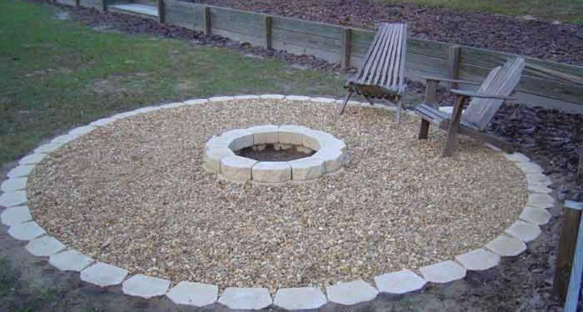 Outdoor Fire Pit Garden Pinterest