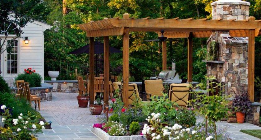 Outdoor Living Spaces Example