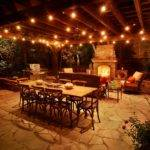 Outdoor Patio Lighting Ideas Romatic