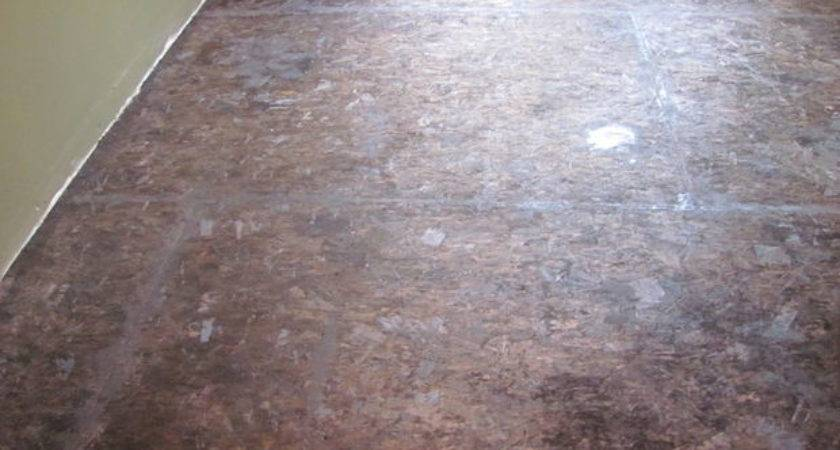 Painted Floor Particleboard All
