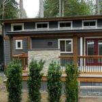 Park Model Manufactured Home Porch Inspiration
