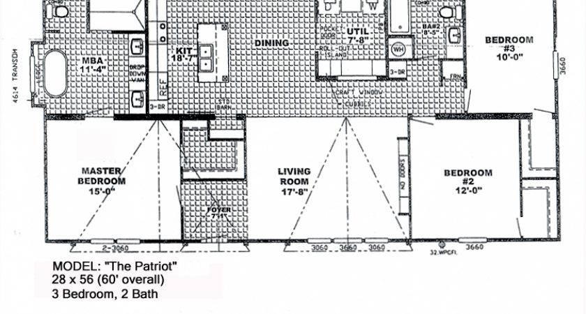Patriot Manufactured Homes Floor Plans