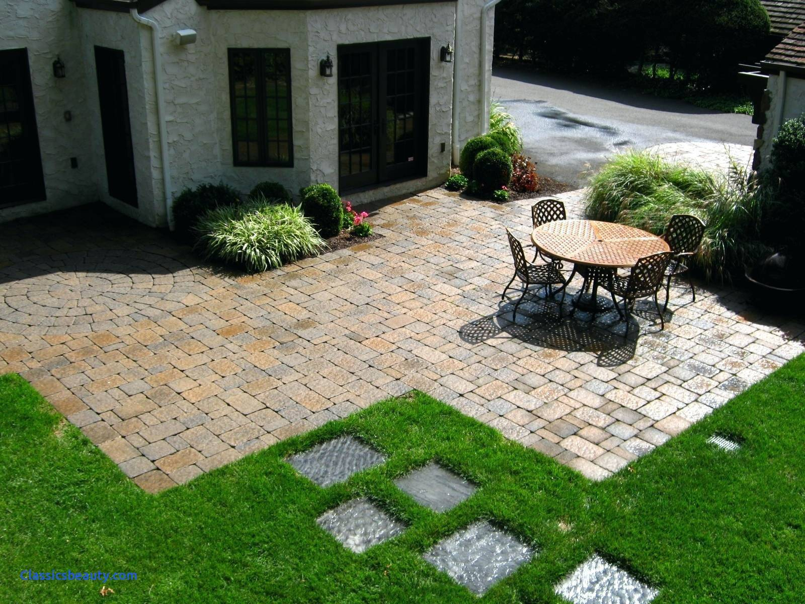 Paver Designs Backyard Design Ideas