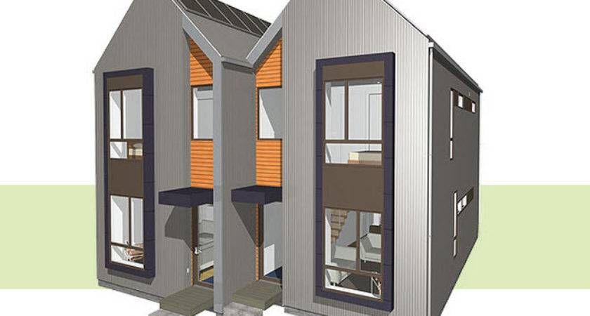 Piecehomes Double Tall House Modernprefabs