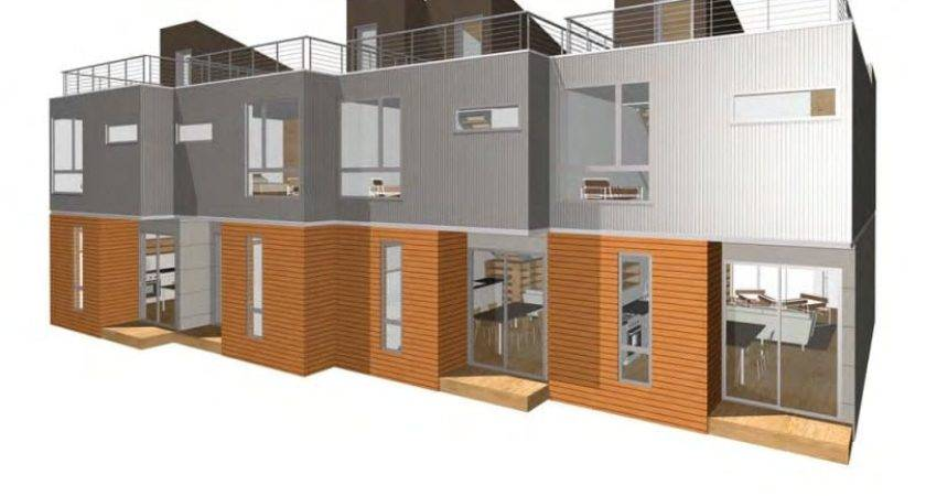 Piecehomes Townhouse Prefab Home Modernprefabs