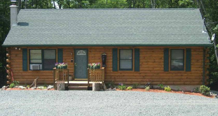 Pine Tree Homes Modular Log Land Home Package