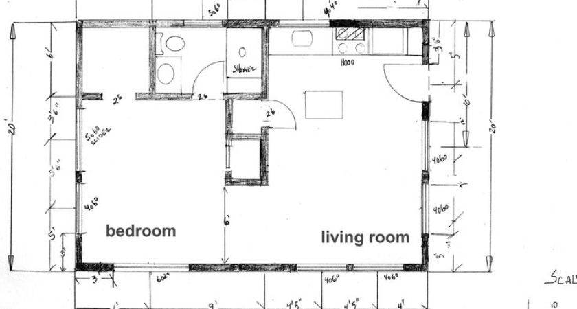 Plans Floor Plan Cabin Beach Under Square Feet