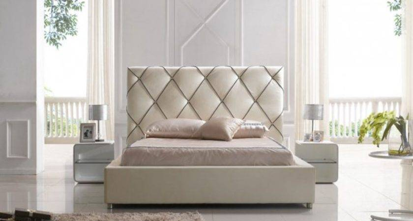 Platform Beds Modern Headboard Bed Designs Ideas Bedroom Design
