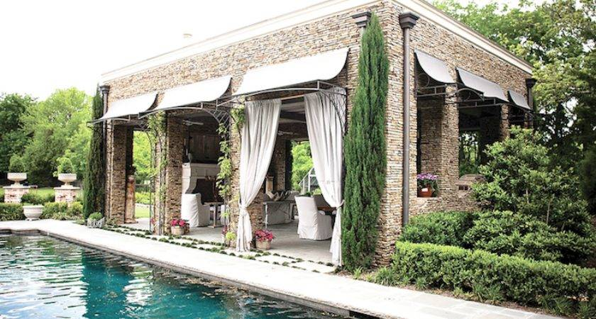 Pool Cabana Chandeliers Transitional
