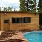 Pool Houses Well Log Home Builders Plus Prefab Concrete Homes