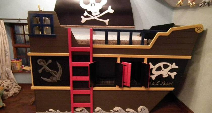 Popular Items Pirate Ship Theme Etsy Bunk Bed