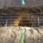 Pouring Footings House