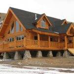 Pre Built Advantages Fast Assembly Panelized Kit Log Homes