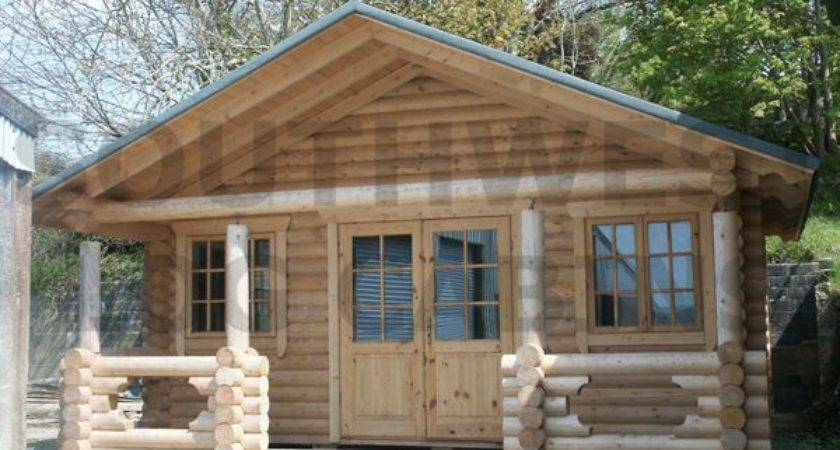 Pre Built Log Cabin Homes Factory
