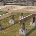 Precast Deck Footings Tube Concrete Modular