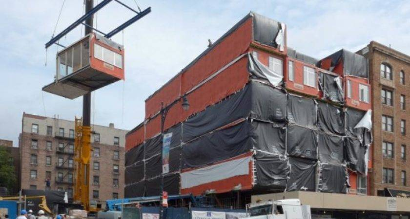 Prefab Buildings Come Inwood Daily News