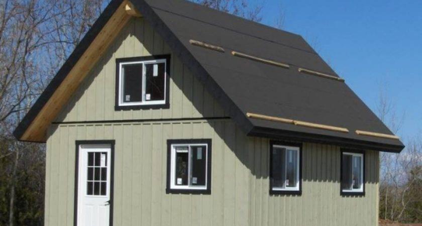 Prefab Bunkie Cabin Cottage Installation