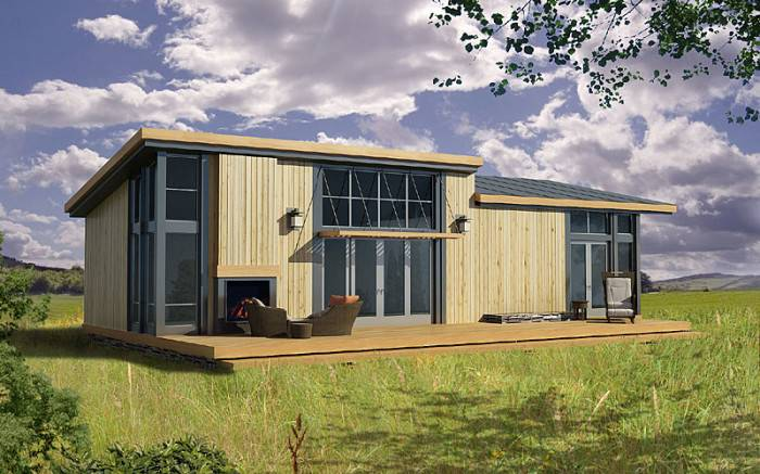 Prefab Home Model Langley Lopez