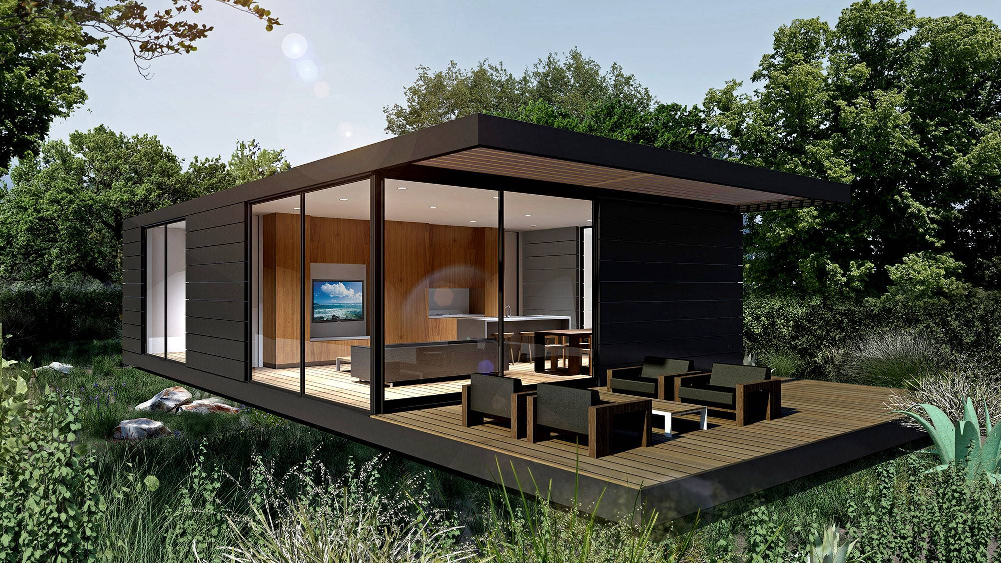 Prefab Homes Sophisticated Tastes Los Angeles Times