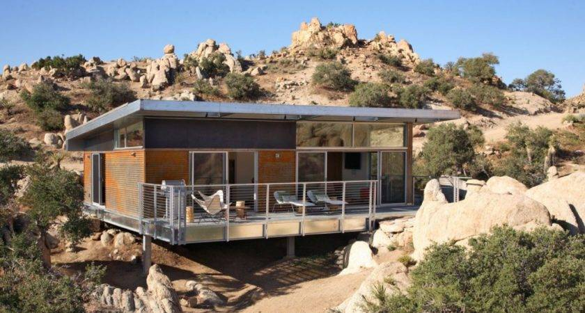 Prefab House Desert California Modern Modular Homes