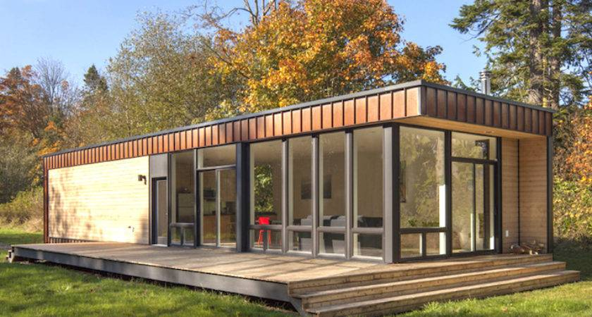 Prefab House Method Homes Chris Pardo Washington Exterior Humble