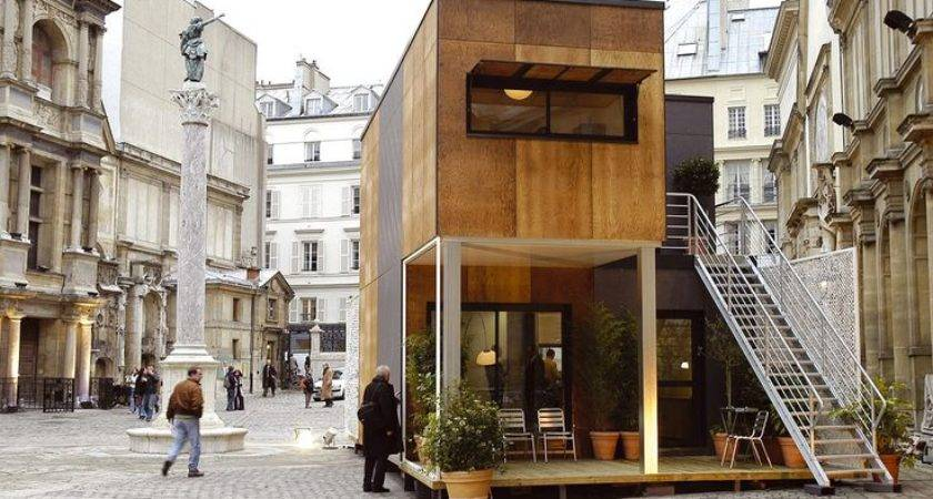 Prefabric House Algeco More Tiny Prefab Container