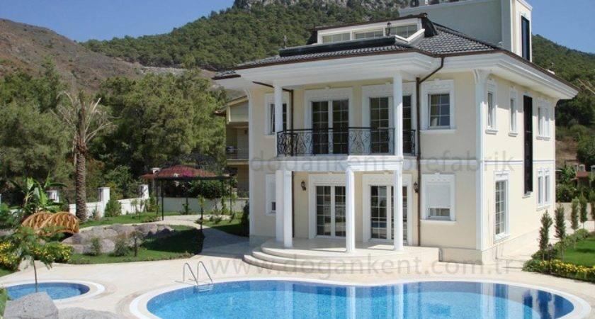 Prefabric Villas Turkey Luxury Villa Exterior Pinterest