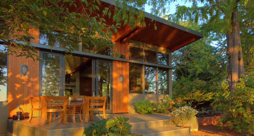 Prefabricated Home Portland Oregon Modern Prefab Modular Homes