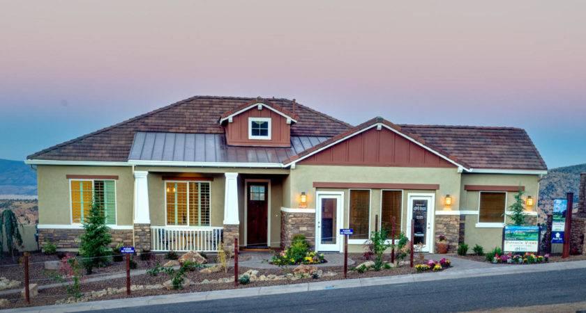 Prescott lakes model homes