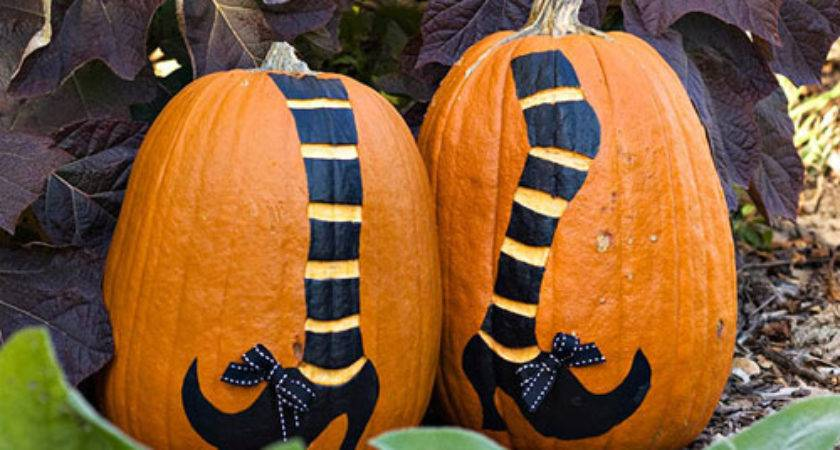 Pumpkin Decorating Ideas Without All Carving