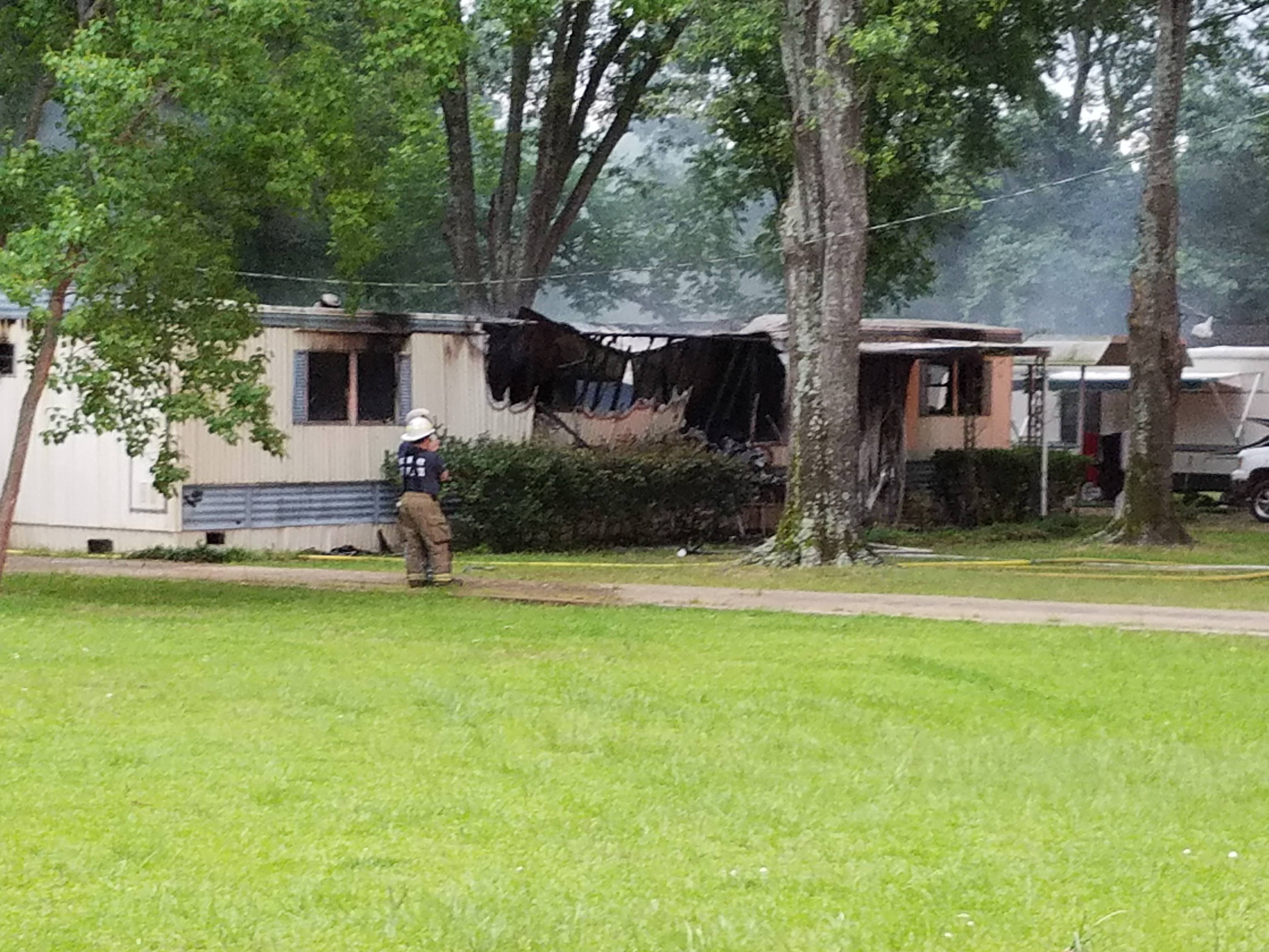 Put Out Mobile Home Fire Occurred Monday Morning Tyler