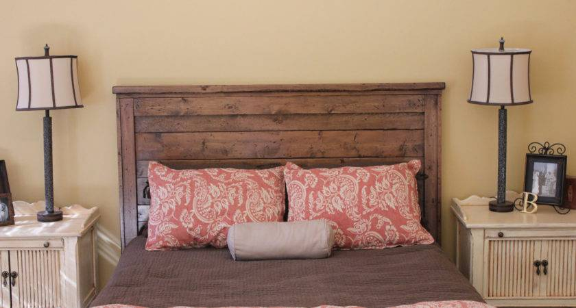 Queen Reclaimed Wood Headboard Goodmanbm Etsy