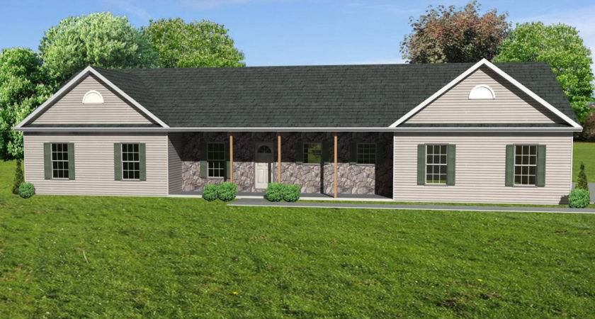 Ranch House Plan Houseplan Greatroom