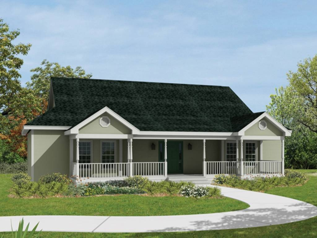 Ranch House Plans Front Porch