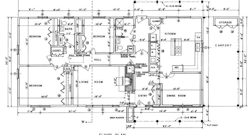 Ranch House Plans Home