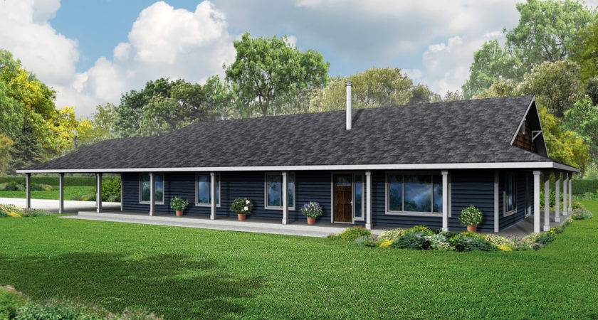 Ranch Style House Plans Wrap Around Porch Quotes