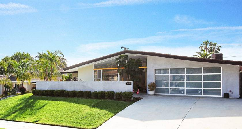 Real Estate Midcentury Modern Home Sale Burbank Yes