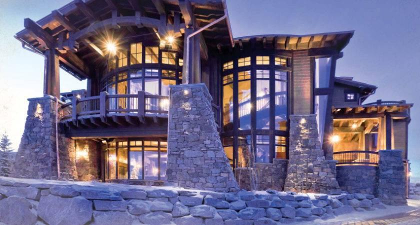 Really Nice Houses Stonework Lighting