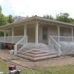 Rear Porch Designs Mobile Homes Home Porches