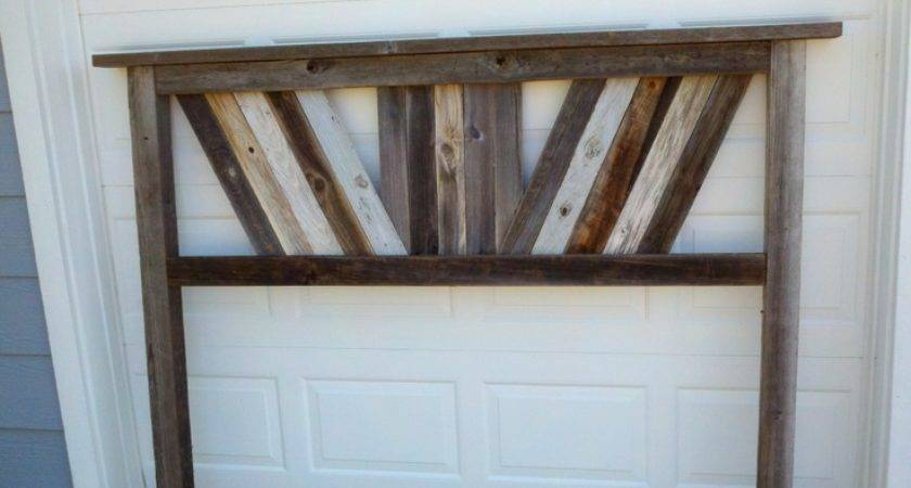 Reclaimed Headboard Idea Some Day Lake Home Pinterest