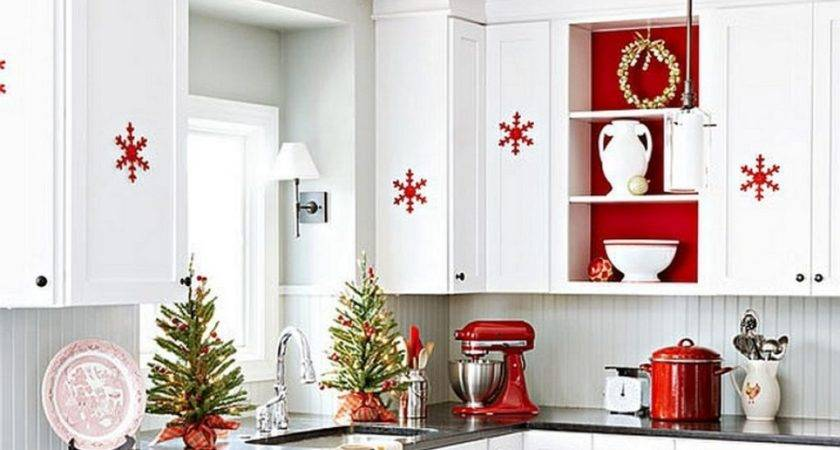 Red Themed Kitchen Decor Design Ideas
