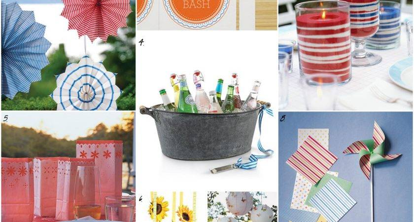Red White Blue Decorations Party Ideas Pinterest
