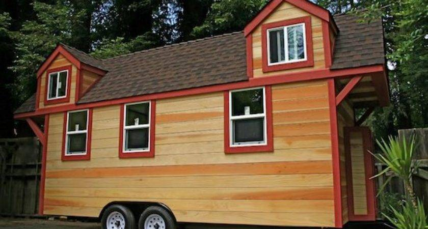 Red Wood Tiny Home Sale Canadian Off Grid