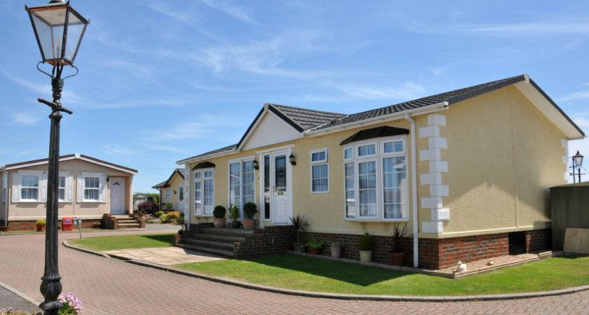 Residential Mobile Home Quality Caravan Park Estate