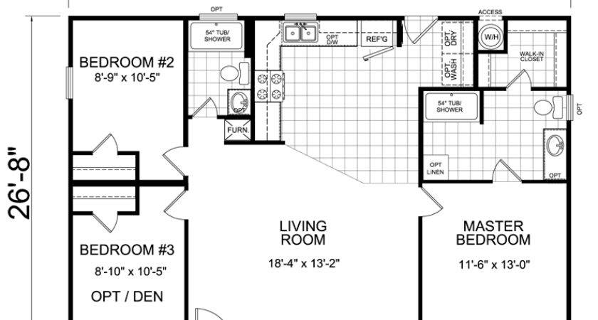 Right Small House Floor Plan