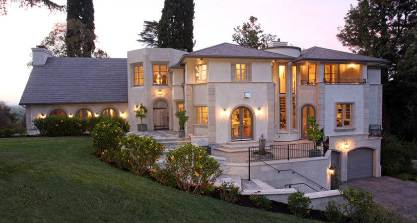 Romantic French Chateau Contemporary Accents Studio City