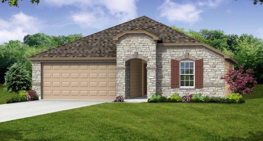 Rosemont New Home Plan Killeen Centex Builders Trimmier