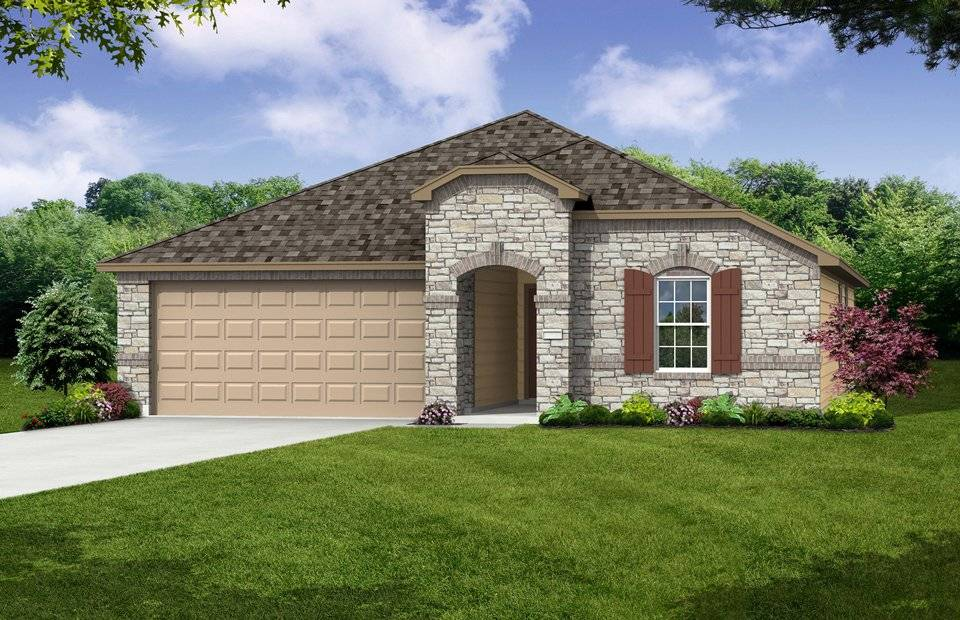 Rosemont New Home Plan Killeen Centex Builders Trimmier