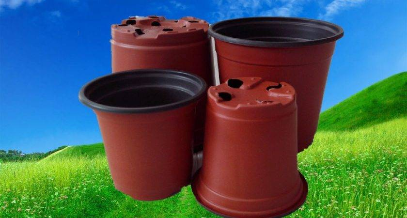 Round Plastic Flower Pot Cheap Garden Pots