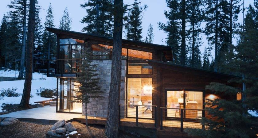 Sagemodern Prefab Home Martis Camp North Lake Tahoe